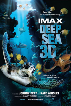 Into the deep comes another unforgettable imax 3d experience deep sea
